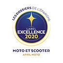 Label Excellence - APRIL Moto